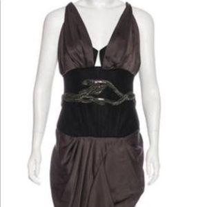 NWT. Sale 🔥Roberto Cavalli silk corset dress!!!